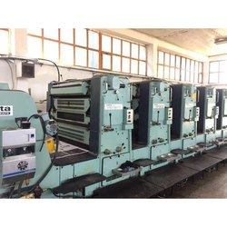 Planata Super Variant 4 Color Offset Printing Machine