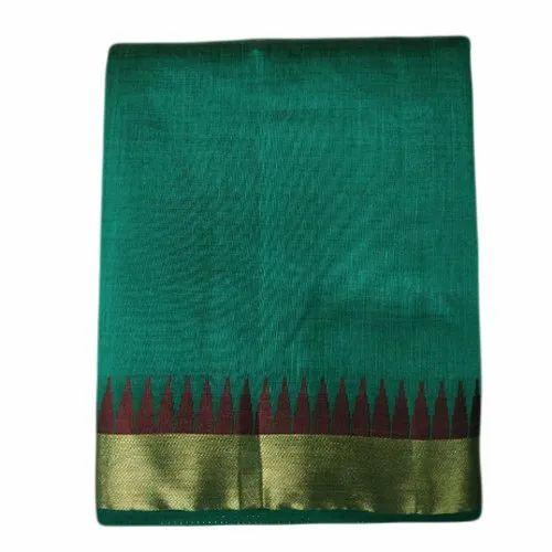 Green Festive Wear Ladies Fancy Tussar Silk Saree, Packaging Type: Packet
