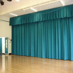 Motorized Stage Curtain