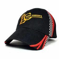 黑色男士广告帽,尺寸:57厘米