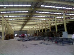Factory PEB Shed Structure
