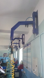 Hanging Hoses for Two Wheeler Garages