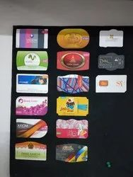 Art Paper Pattern Printing Visiting Card Services