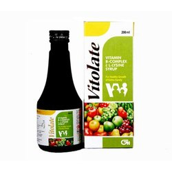 Vitolate Syrup, Packaging Type: Bottle, Packaging Size: 200 ml