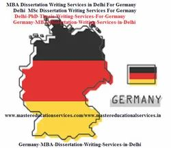 Germany Thesis Writing Services