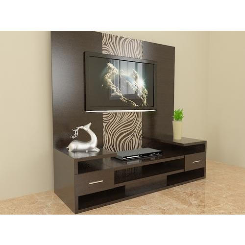 Rectangular Wall Mounted Wooden Tv Unit Rs 26999 Unit Global Interio Id 16224366162