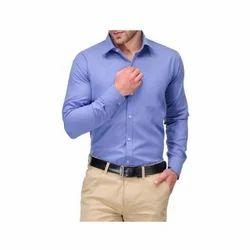 Cotton Full Sleeve Plain Formal Shirts