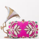 Party Wear Box Clutch