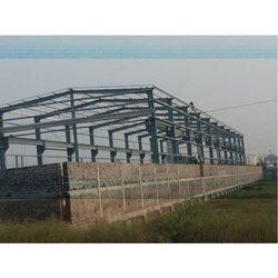 MS Factory Roofing Shed Structure