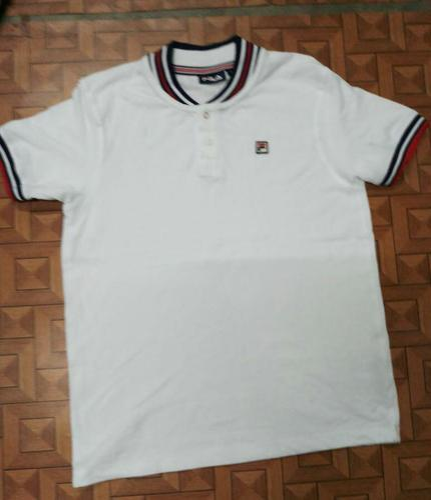 625918fe5f4 Boys And Men Logo And Plain FILA Polo T-Shirts, Rs 300 /piece | ID ...