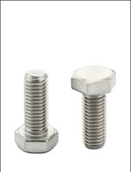 Full Thread Mild Steel Hex Bolt, Size: M30