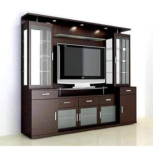 Brown Tv Unit Rs 1000 Square Feet Lucky Furniture Interior Design