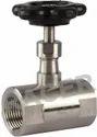 Socket End Stainless Steel Needle Valve