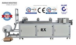 Rudrax Single Phase RXCP2 Non Woven Bouffant Cap Making Machine, Production Capacity: 60 To 80 / Minute