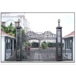 Swing Cast Iron CI Residential Gate