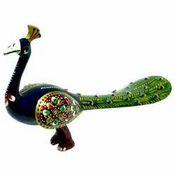 Meena Peacock Sculpture