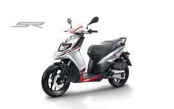 Black And White Aprilia 125