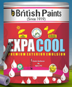 Berger High Sheen British Paints Expa Cool Premium Exterior Emulsion 1 Ltr, Packaging Type: Bucket