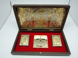 9 Devi Gold Plated Photo Frame Box