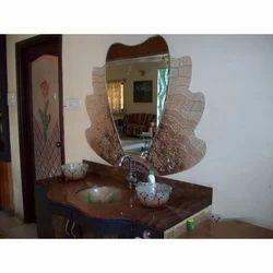 Stylish Glass Mirror