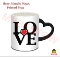 Black Ceramic Sublimation Magic Mug