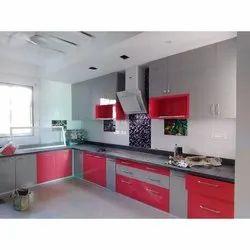 Wooden Modular Kitchen Service, Warranty: 5-10 Years