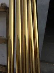 SS Gold Pipe 304