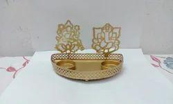 541fa845c084 gift shops. Lakshmi Ganesha Metal Votive Diwali Gifting Items