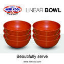 200 ml 6 Piece Earthen Linear Bowl Set