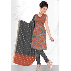 Print Bandhani Designer Suit