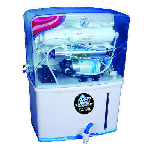 30377cdd6c0 Blue And White Shraddha Aquatech Reverse Osmosis Water Purifier