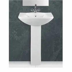 Sonferry Ceramic Dyna Set Pedestal Wash Basin