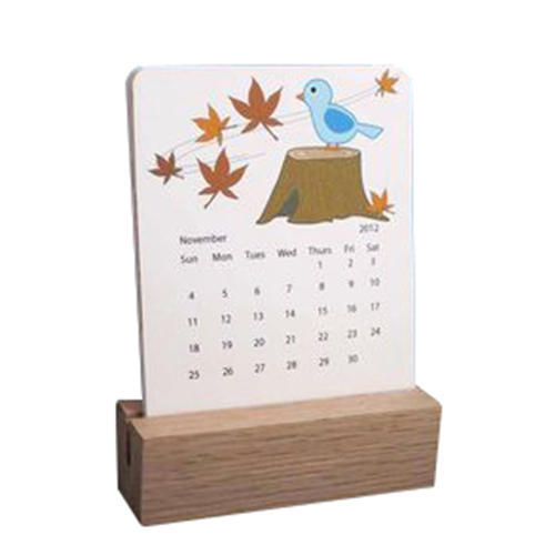 Natural Wood Wooden Block Calendar Rs 290 Piece Marvellous