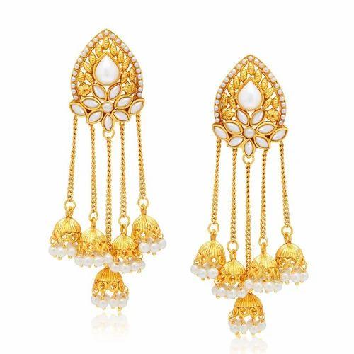 6dc95d792 Sukkhi Stunning Gold Plated Earring For Women, गोल्ड ...