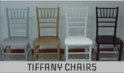 Black Tiffany Chairs