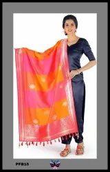Panchhi Designer Banarasi Silk Dupatta