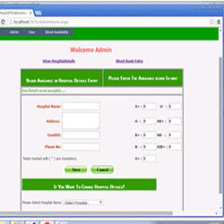 what is blood bank management system