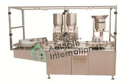 Automatic Vial Filling and Plugging Machine