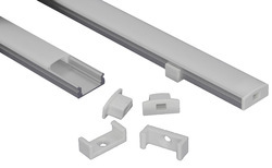 17mm Surface Aluminum Led Profile