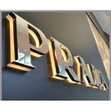 SS Prada Letter Signage