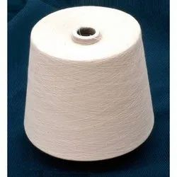 Ring Spun White Compact Cotton Yarn, For Textile Industry, Count: 20