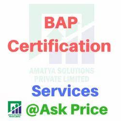 BAP Certification