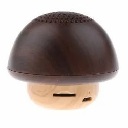 Jogger Innovative Wooden Mushroom Shaped Wireless Bluetooth Speaker TWS Bluetooth Link, Mini Portabl