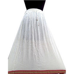 Lycra Cotton Embroidered Skirts
