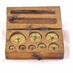 Brass Weight Boxes