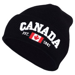 Canada Embroidered Soft Knitted Beanie Hat Cap cheap for discount 463ad  fcfdd  Bmw Motorsport ... 46c05865de71