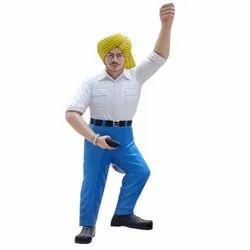 Marble Bhagat Singh Statue