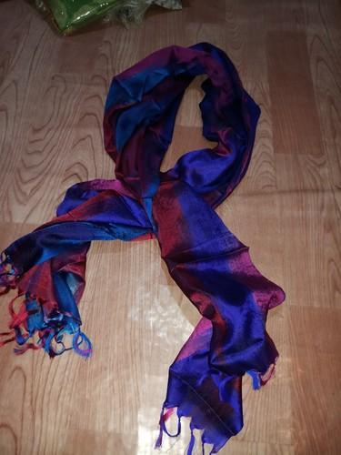 a1ae7518fcf37 Tahera Silk Pure Raimbo Ladies Silk Scarf, Rs 410 /piece | ID ...