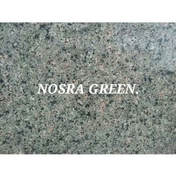 Flamed Nosra Green Granite for Flooring, Thickness: 5-10 mm