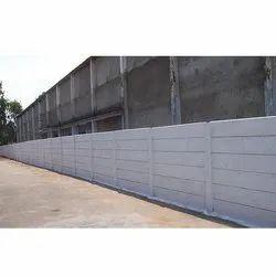 Farm House RCC Compound Wall